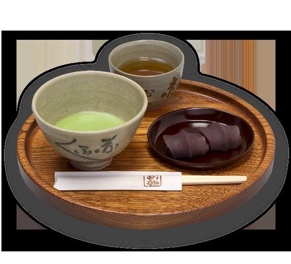 抹茶と赤福餅(2個入り)