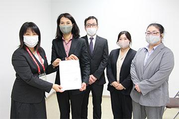 三重県HACCP手法導入制度交付式